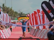 German, British athletes triumph at Techcombank Ironman Champs