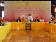 Government official hopes for RoK support for Buddhist activities