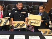 Malaysian police arrest four terror suspects