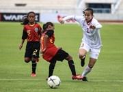 Vietnam beat Timor Leste at AFF U15 Girls' Championship