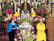Top legislator visits 103-year-old Buddhist patriarch