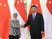 Singapore, China step up bilateral ties