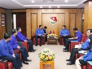 Vietnam, Laos youth unions look to enhance cooperation