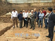 More artifacts found in Thang Long Imperial Citadel