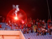 Vietnam Football Federation fined 39,500 USD for flares