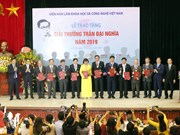 Outstanding scientific researches honoured with Tran Dai Nghia Award