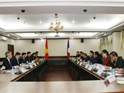 Vietnam's foreign ministry delegation visits Laos