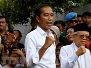 Indonesian election: Widodo makes victory speech