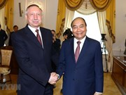 PM Nguyen Xuan Phuc's activities in Saint Petersburg