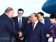Prime Minister arrives in Russia, beginning official visit