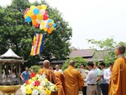 Vietnamese in Laos celebrate the Buddha's 2563rd birthday