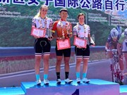 Vietnamese cyclist wins Tour of Zhoushan Island I