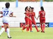 Vietnam rank third in AFF U15 Girls Championship