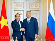 PM meets Russian State Duma Chairman