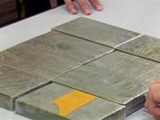 Ha Nam: man arrested for illegal transportation of 10 heroin bricks