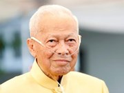 Condolences to Thailand on death of former PM