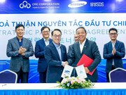 Samsung SDS unveils new strategic deal with Vietnamese firm