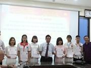 German scholarships presented to Vietnamese students