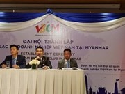 Vietnamese Business Club in Myanmar set up