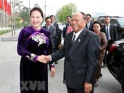 Cambodian NA President concludes Vietnam visit