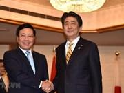Deputy PM Pham Binh Minh meets Japanese, Lao leaders in Tokyo