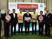 Thai health ministry announces World No Tobacco Day activities