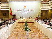 Government's press conference talks issues of concern