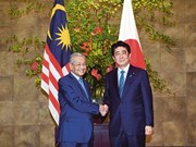 Japan, Malaysia agree to achieve free, open Indo-Pacific region