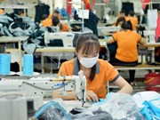 Apparel maker Vinatex promotes trade in Canada