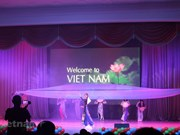 Vietnamese woman shines at beauty contest in Russia