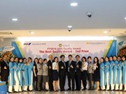 Vietnam's airport ground services firm receives service quality awards