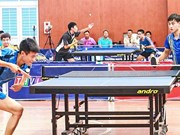 International table tennis cup comes to Vinh Long