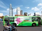 HCM City to auction again advertising space on buses