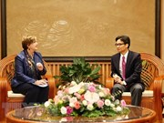 Deputy PM receives new UNICEF Representative in Vietnam