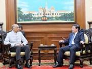 Indian Ambassador bids farewell to HCM City leader