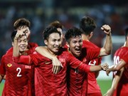 U-23 Vietnam defeat Myanmar 2-0 in friendly match