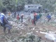 Bus crash kills eight in Philippines