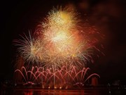 Brazil, Belgium debut at Da Nang int'l fireworks festival