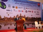 16th Asia Media Summit opens in Cambodia