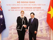 Vietnamese, Australian Foreign Ministers hold talks
