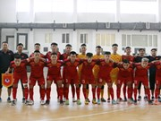 Vietnam's U20 futsal team beat Mes Sungun of Iran in friendly match