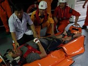 Injured Philippine sailor taken to Da Nang for treatment