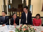 Politburo member Vo Van Thuong pays visit to Morocco