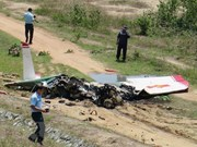 Military training aircraft crashes, two killed