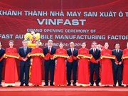 VinFast auto manufacturing factory opened in Hai Phong