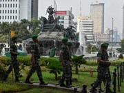Indonesia tightens security while court hears election fraud claims