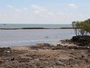 Tien Giang plans to repair geotube sea dyke