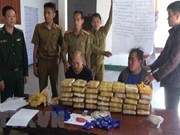 Three Lao drug traffickers arrested in Dien Bien
