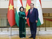 Vice President holds bilateral meetings on CICA sidelines