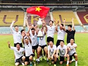 Vietnamese team wins friendly football tournament in Czech Republic
